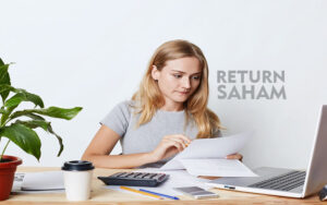 Cara menghitung return saham