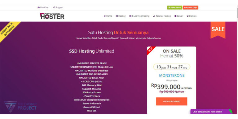 Review hoster.co.id