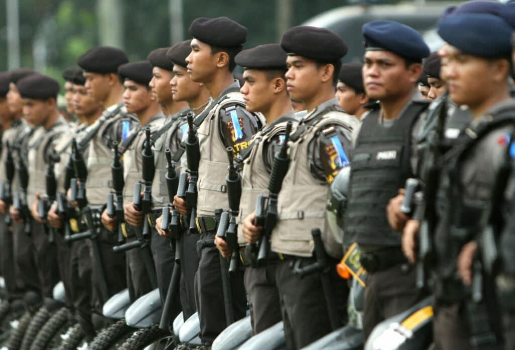 Gaji polisi terbaru