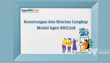 Modal Agen BRILink